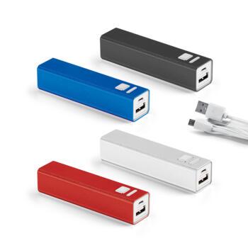 Bateria alumínio portátil