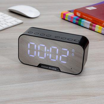Relógio de Mesa em Inox